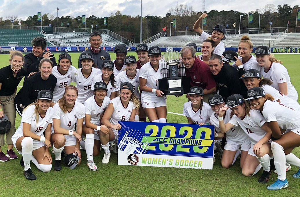 Florida State Wins ACC Women's Soccer Championship