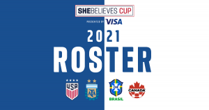 2021 She Believes Cup USWNT Roster
