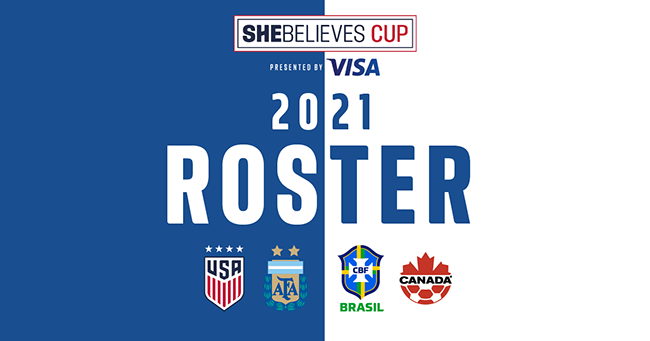 2021 She Believes Roster